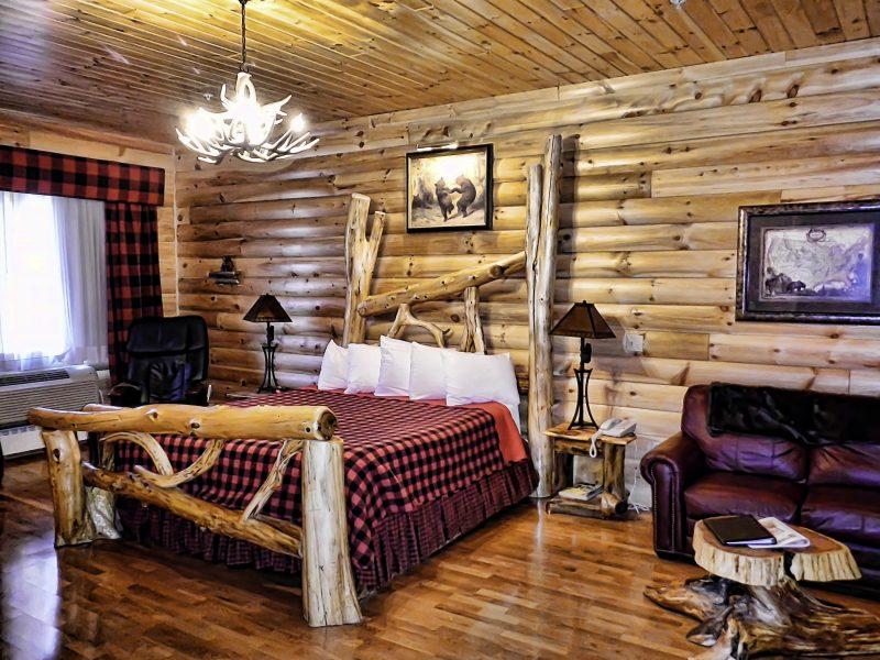 Bangor Maine themed Hotel room