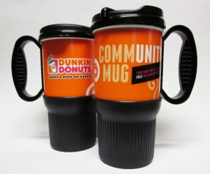 dunkinmugs websized 300x249 Dunkin Donuts Free Coffee Fundraiser