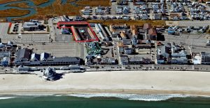 Janmere Motel Hampton Beach New Hampshire Aerial View