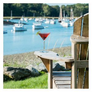 Kennebunk Maine Stripers Restaurant Drink And View