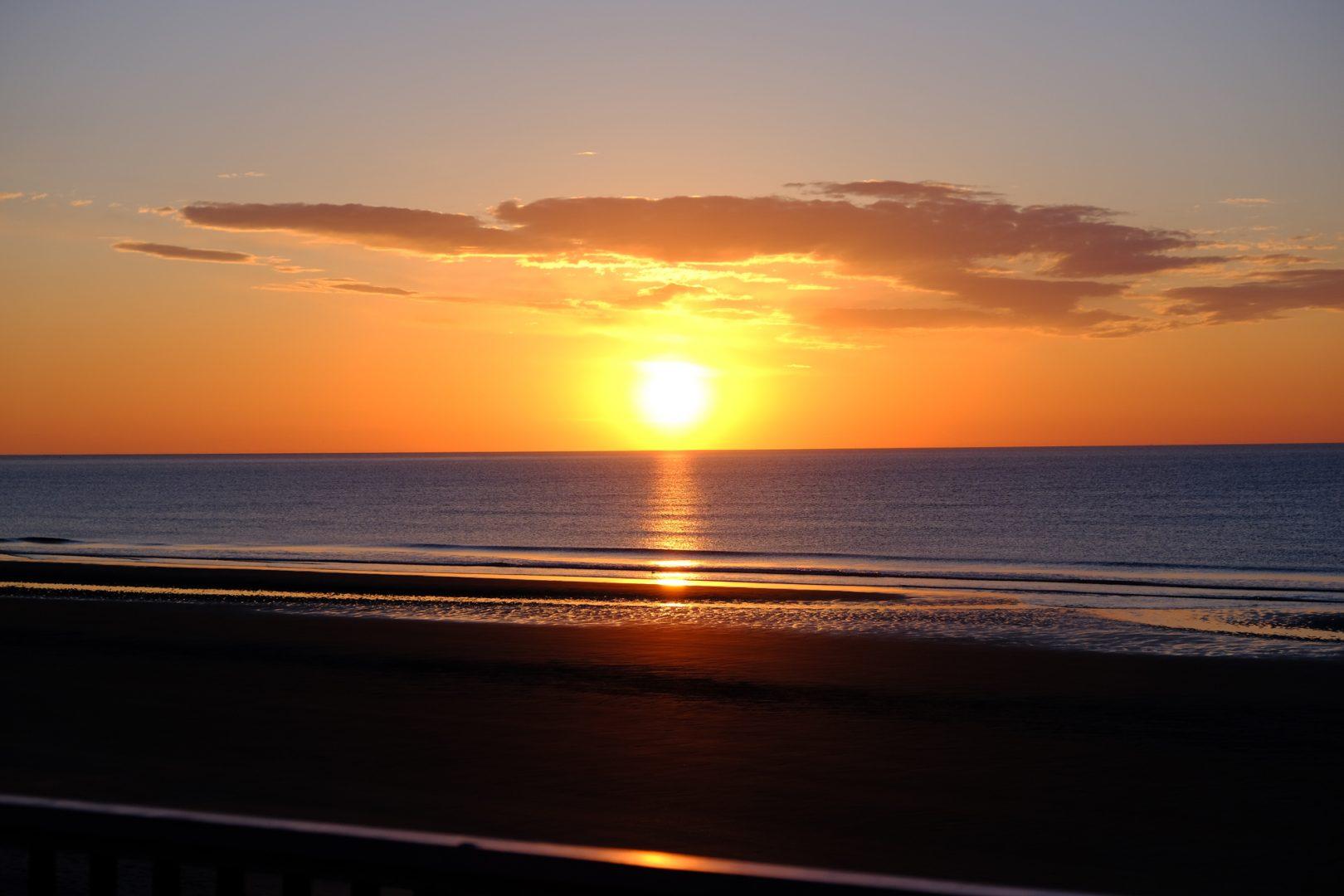 lafayette hotels maine coast sunset